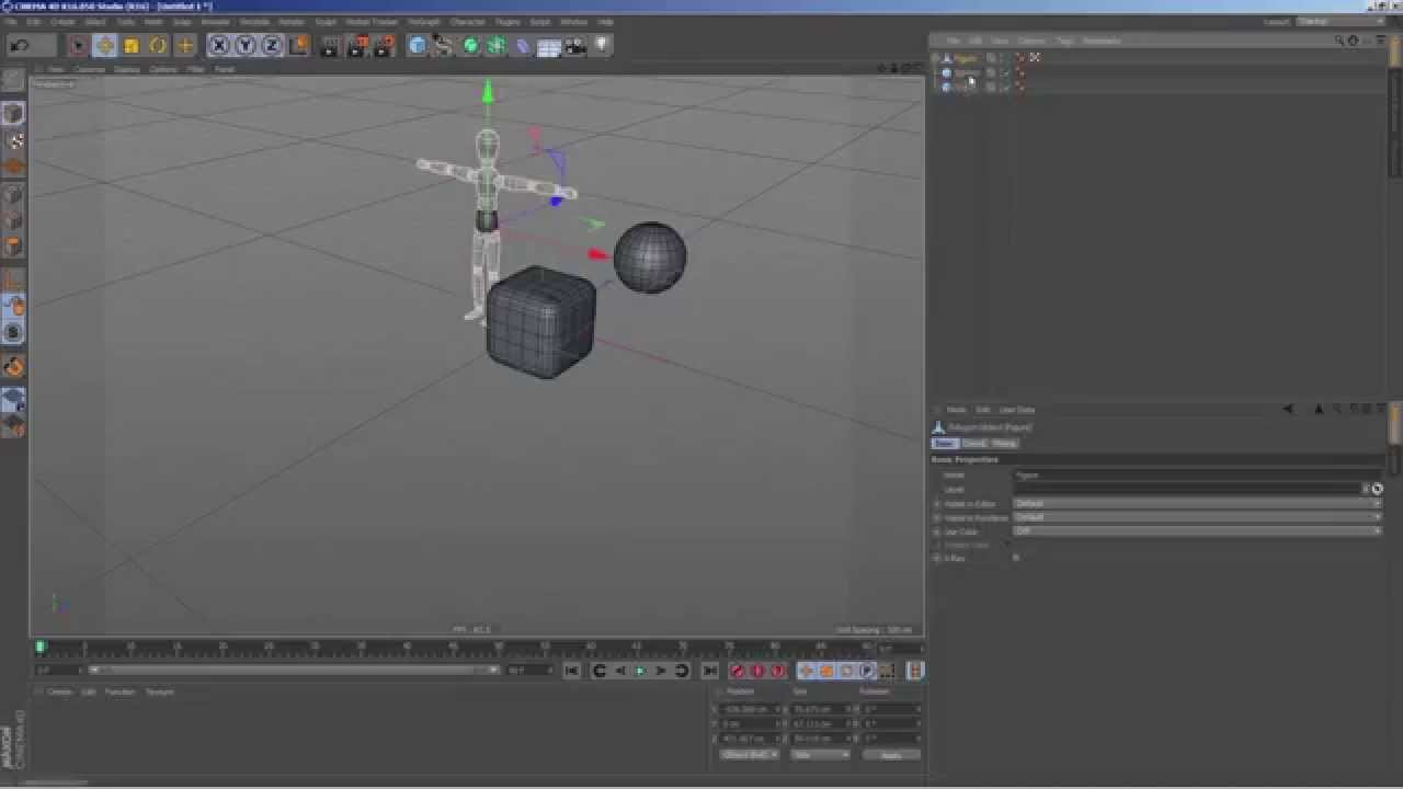 Export From C4D To 3DMax