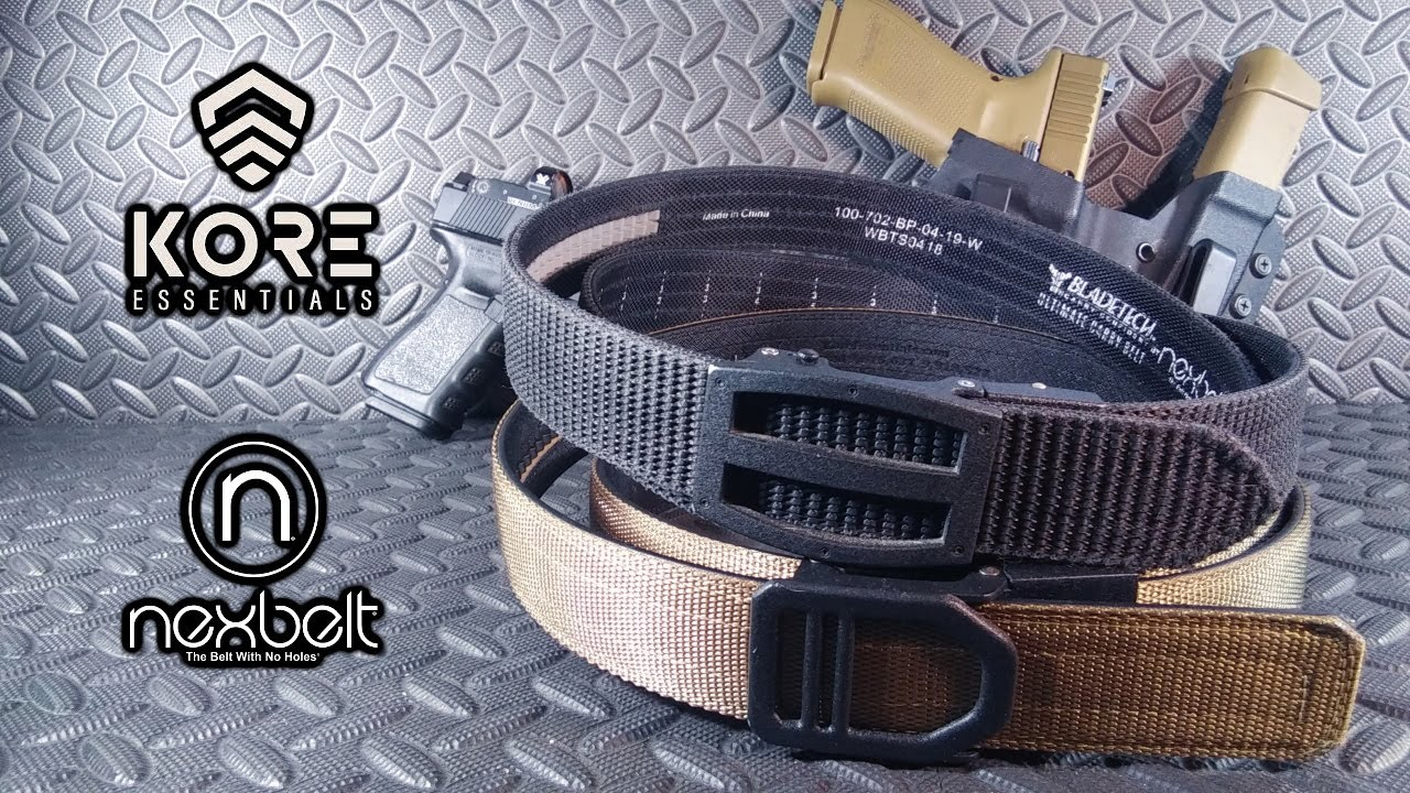 Kore Essential Gun Belt Vs Nexbelt Ultimate Carry Belt Youtube Explore @kore_essentials twitter profile and download videos and photos redesigning men's accessories new kore essentials garrison range belt the ultimate shooting belt. kore essential gun belt vs nexbelt ultimate carry belt