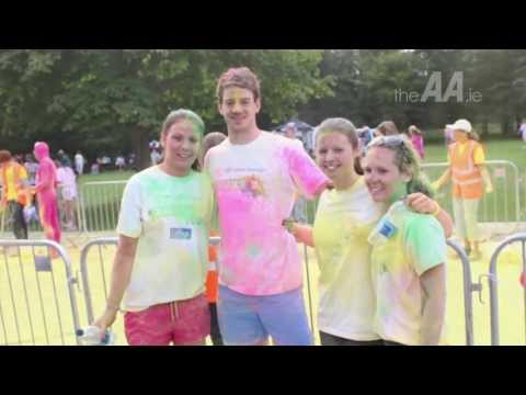 The AA at the Colour Dash for the Irish Cancer Society