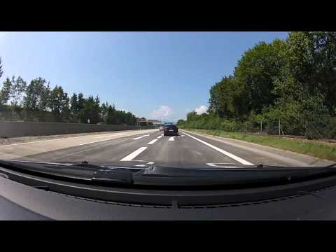 Very Long Time Lapse - Poland - Croatia - 1200 km - GoPro Hero2 - No Sound - 10 times faster