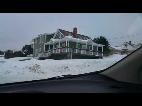 1/21/18  1950's gas station found in Madawaska Maine PT. 2