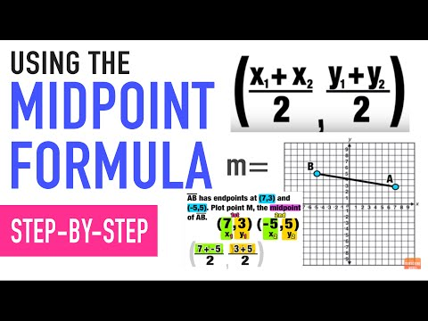 ☆ HOW TO USE MIDPOINT FORMULA!