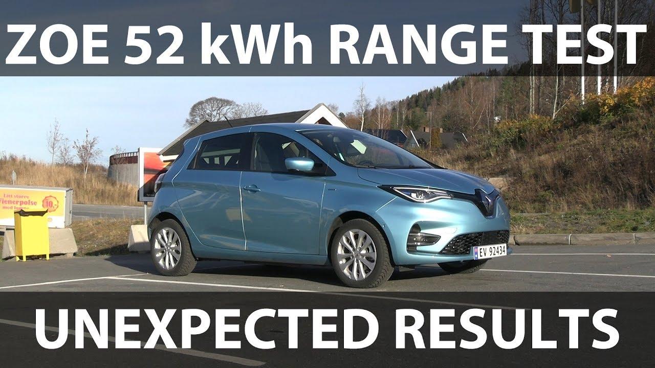 Renault Zoe Test >> Renault Zoe 52 Kwh Range Test