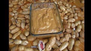 Полезная арахисовая паста!