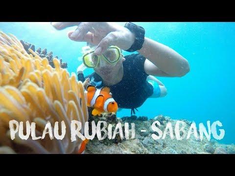 SNORKELING DI PULAU RUBIAH SABANG | WEH ISLAND ACEH - INDONESIA [GoPro HERO 5 Black]