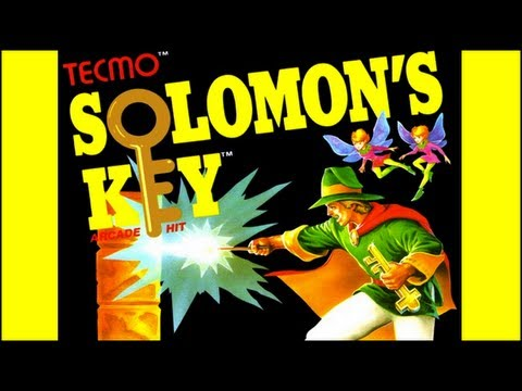 7b2982a9116a Solomon s Key NES Complete Walkthrough in 1 Life - YouTube