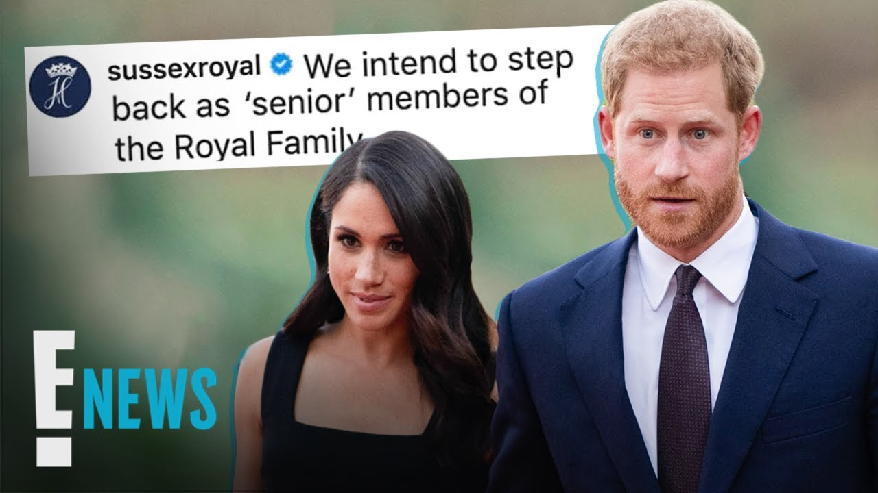 Prince Harry, Meghan Markle Announce Decision To 'Step Back' As ...