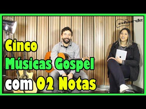 Cinco Músicas Gospel com 02 Notas (Com Carolina Souza) l Aula #42