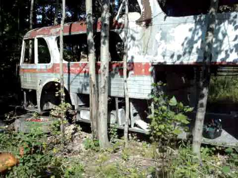 GMC Greyhound Scenicruiser PD4501-498 Michigan Part 1