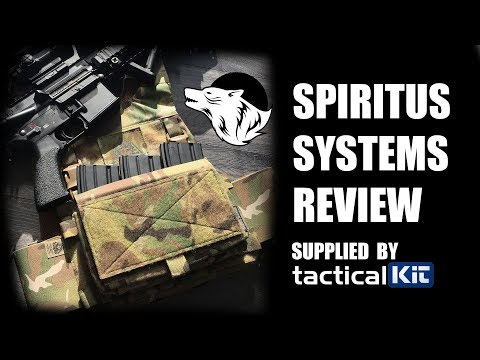 Spiritus Systems Full 5.56 Kit  - Chassis - Straps - Accessories - Micro Flight Chassis