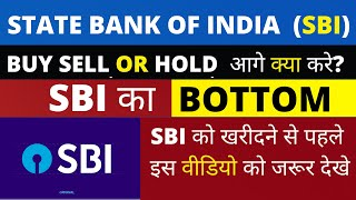 BUY SELL OR HOLD क्या करे? Sbi Share Price Today SBI Share Latest News |SBI Share Technical Analysis