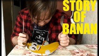TRY NOT CRY story of banana