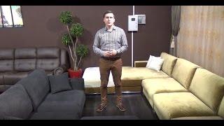 Видео Обзор Двух моделей Дивана Лучиано 3S и 4-х модульного с Шезлонгом