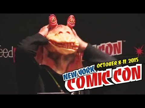 Geek Geek Revolution panel at New York Comic Con 2015  |  papercuts Special Events