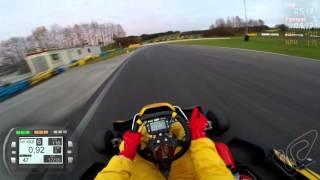 Karting KZ 125cc moteur K9c et chassis sirius au circuit de L'enclos
