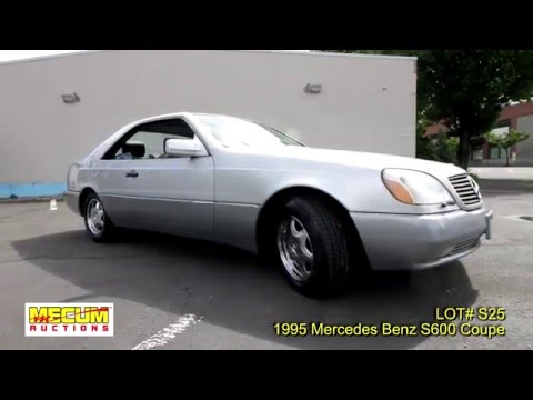 Mercedes s600 1995 for sale vemu cars doovi for 1995 mercedes benz s600 coupe