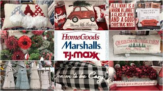 CHRISTMAS DECOR!! HOME GOODS & TJ MAXX SHOP WITH ME FOR CHRISTMAS 2019 | Lauren Midgley