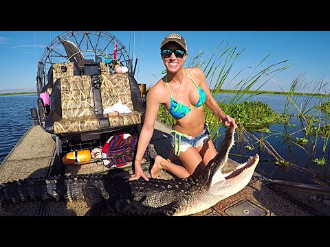 Florida Alligator Hunting - My FIRST Time