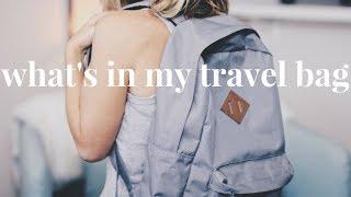 What's in My Travel Bag | Joshua Tree/Desert Edition