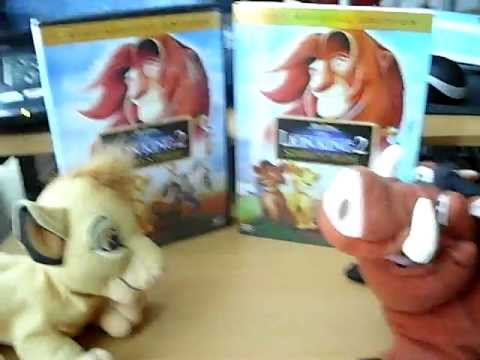 The Lion King Simbs Pride 2 disc unboxing