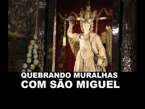TERÇO QUEBRANDO AS MURALHAS COM SÃO MIGUEL ARCANJO