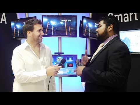 Panasonic at GITEX 2011 - Smart Viera