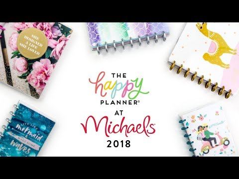 REVEAL WEEK! // Michaels 12-Month Happy Planners!
