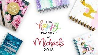 REVEAL WEEK! // Michaels 12-Month Happy Planners!