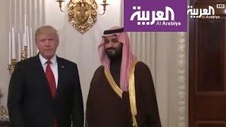 بيان للبيت الابيض عن لقاء الأمير محمد بن سلمان مع الرئيس ترم