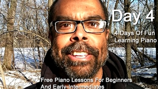 Day 04:  4 Days Of Fun Learning Piano, Free Lessons For Beginners