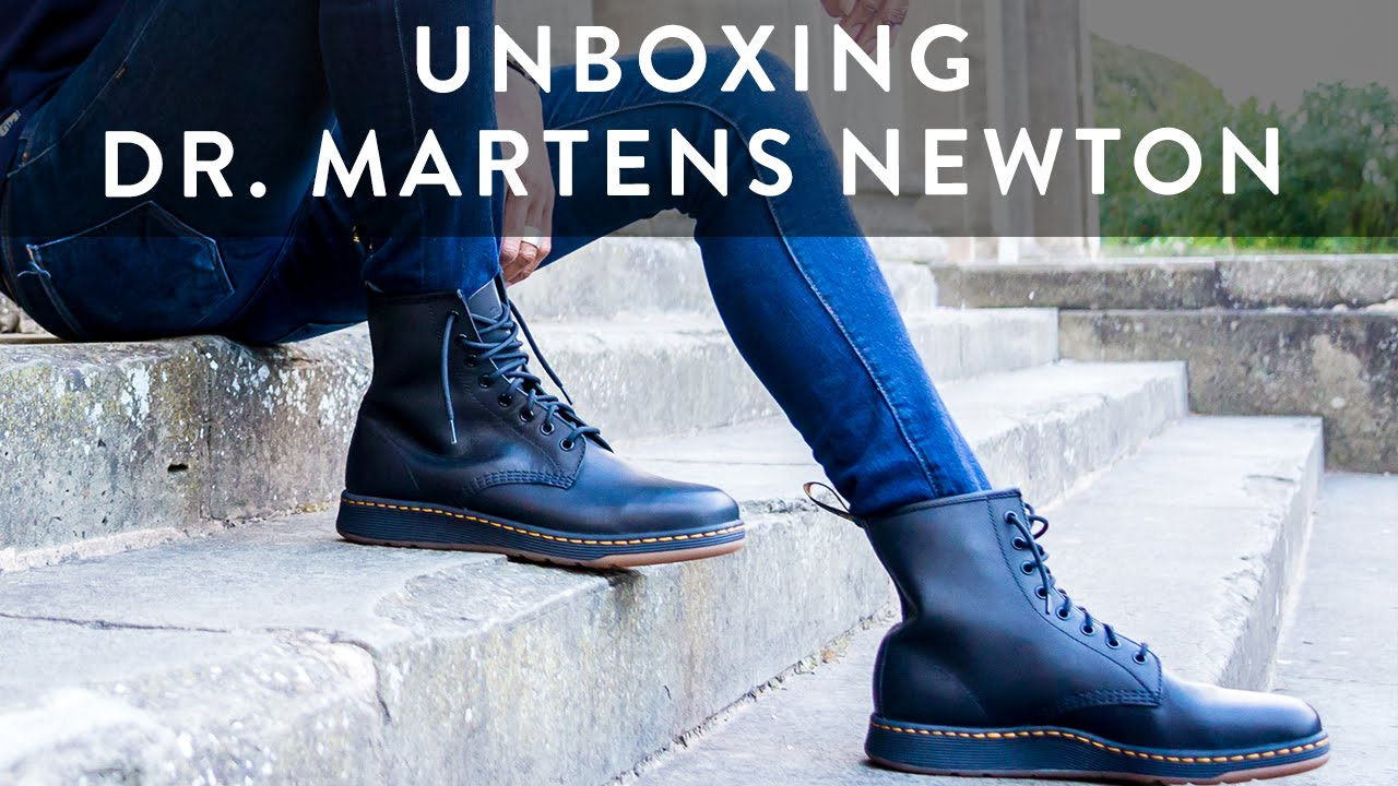 6073961bb6c Dr. Martens Newton Lite | Sneaker Boot Unboxing | Style Tips | On Feet |  The New Collections