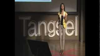 Memaknai Hidup di Luar Zona Nyaman: Angkie Yudistia at TEDxTangsel