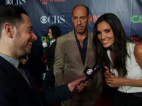 Fall Ps   CBS Press Tour Red Carpet: Daniela Ruah & Miguel Ferrer