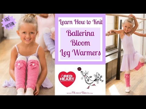 Learn How to Knit the Ballerina Bloom Leg Warmers with Marly Bird