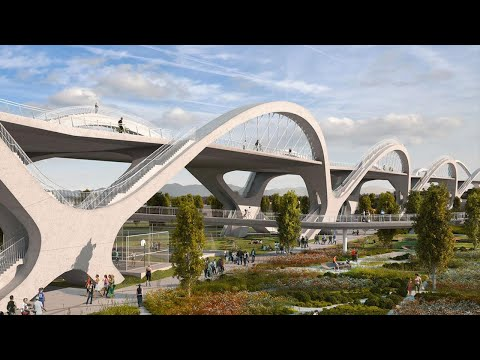 Building Los Angeles' Earthquake-Proof Bridge | The B1M