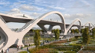 Building Los Angeles' Earthquake-Proof Bridge | The B1M