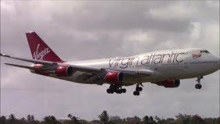 40+ Minutes of Plane Spotting at Barbados Grantley Adams Airport (BGI/TBPB)