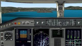 X Plane 9- Landing at KSFO HD