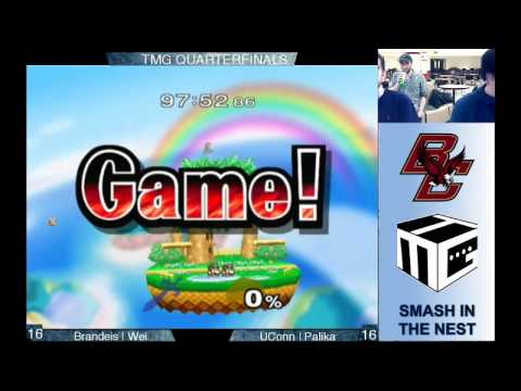 TMG: Smash in the Nest Quarterfinals - Brandeis University vs. University of Connecticut