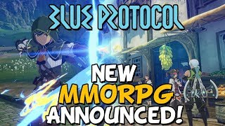 New MMORPG Announced - Blue Protocol & Project BBQ