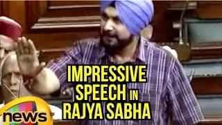 Navjot Singh Sidhu Impressive Speech In Rajya Sabha | Blasts Congress In Parliament | Mango News