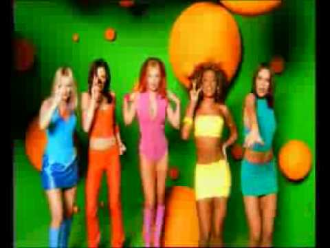 Spice Girls launch Channel 5 (UK)