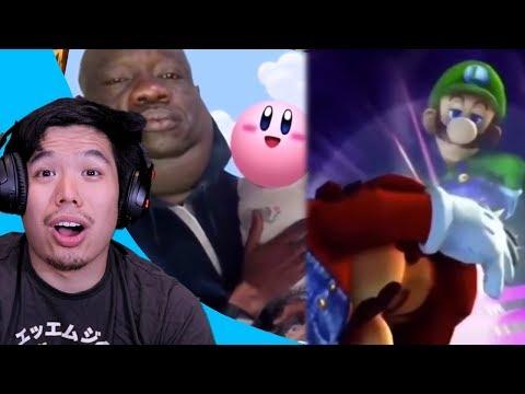 Reacting To Savage Smash Bros Memes