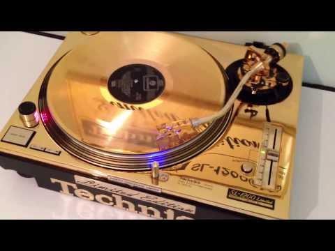 Technics SL-1200LTD Gold *Unikat* 24Karat DMC GLD