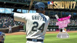 Ken Griffey Jr. vs. Barry Bonds | Home Run Derby | MLB The Show 17