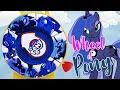 Wheel of Pony Game with Split Pony Princess Luna and Nightmare Moon