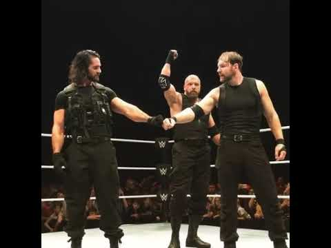 WWE-Triple H joins the shield replacing Roman Reig