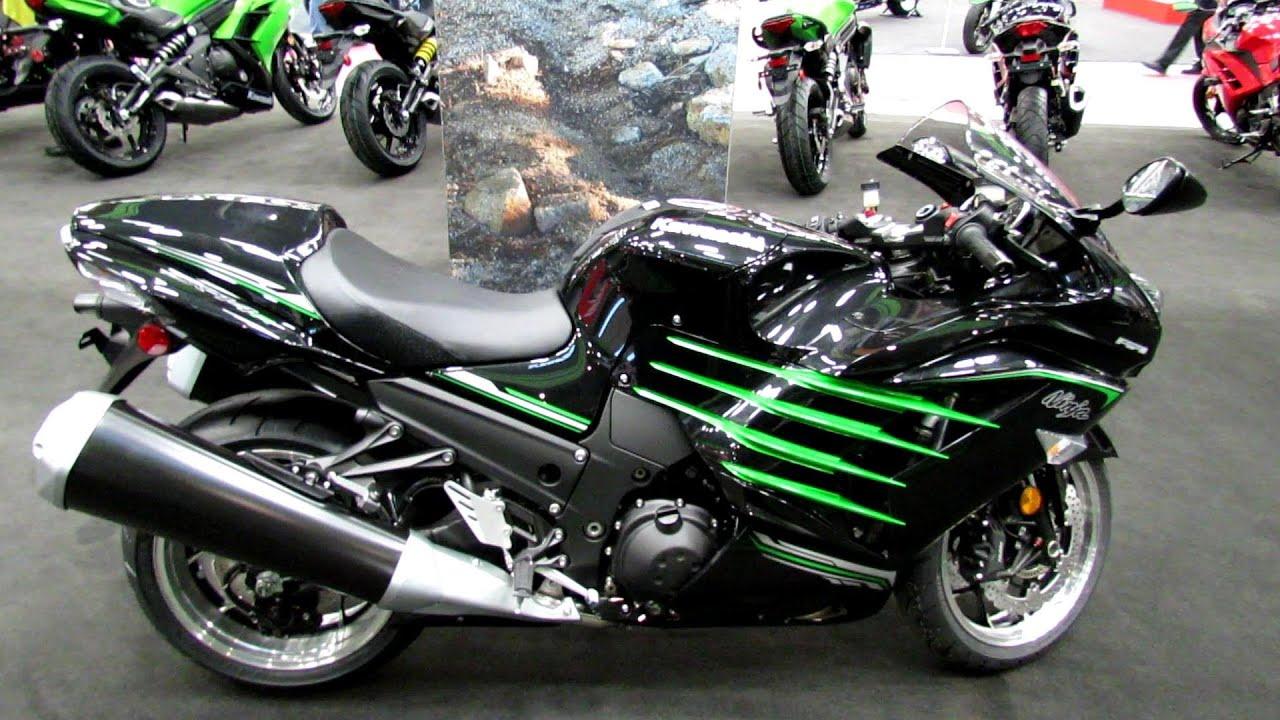 2013 Kawasaki ZX-14R Special Edition - Walkaround - 2013 Quebec City ...