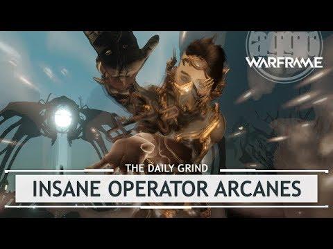 Warframe: Operator Arcanes Vs. Lvl 160 - Magus Overload & Lockdown thumbnail