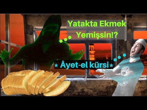 Short Film - Guys Eating Bread In Hıs Bed and The Genies Comes For Him (PARODY)